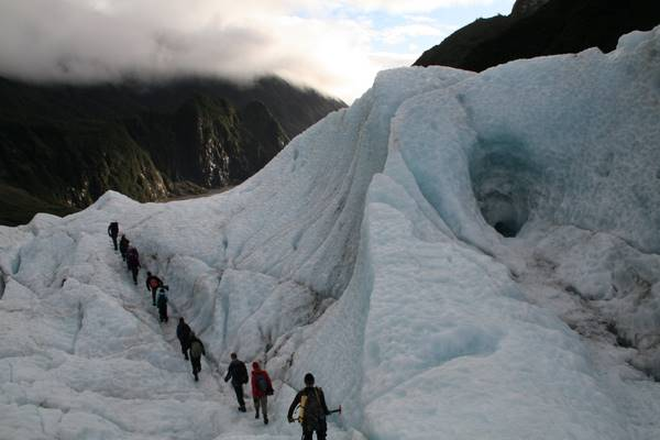 Hiking on Fox Glacier
