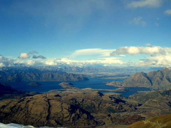 Lake Wanaka from Trebble Cone