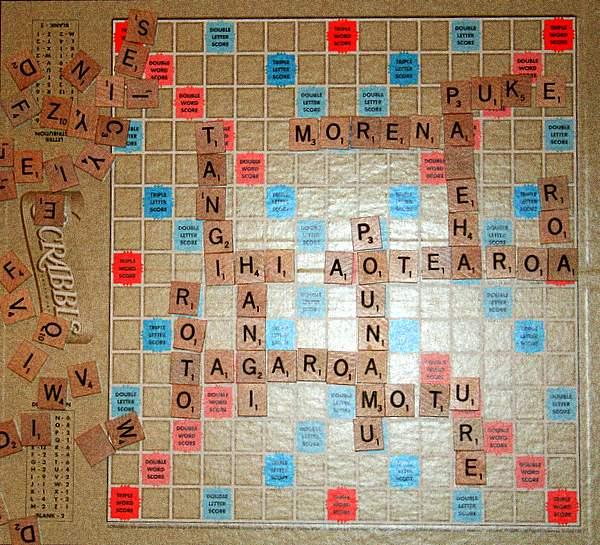 Maori Scrabble