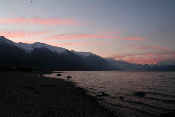Ohau Sunset