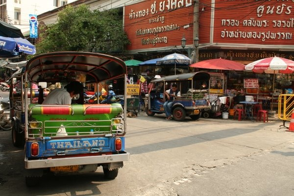 Tuk Tuks and the Market
